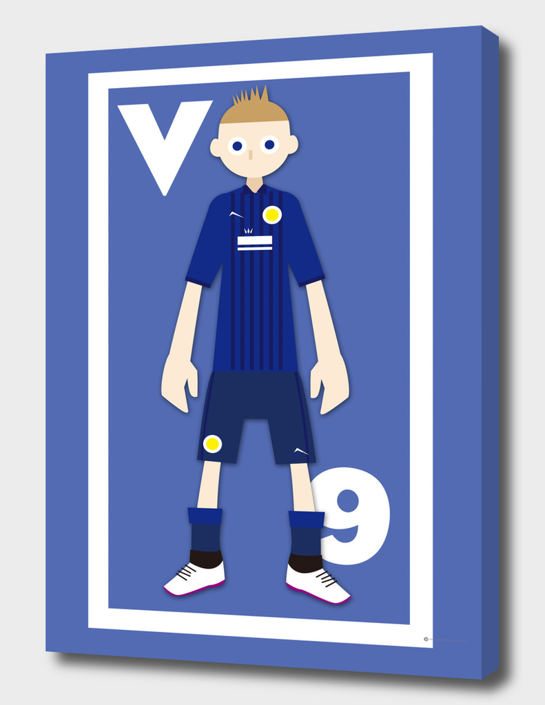 Go Goal Your Team Player Vardy 9