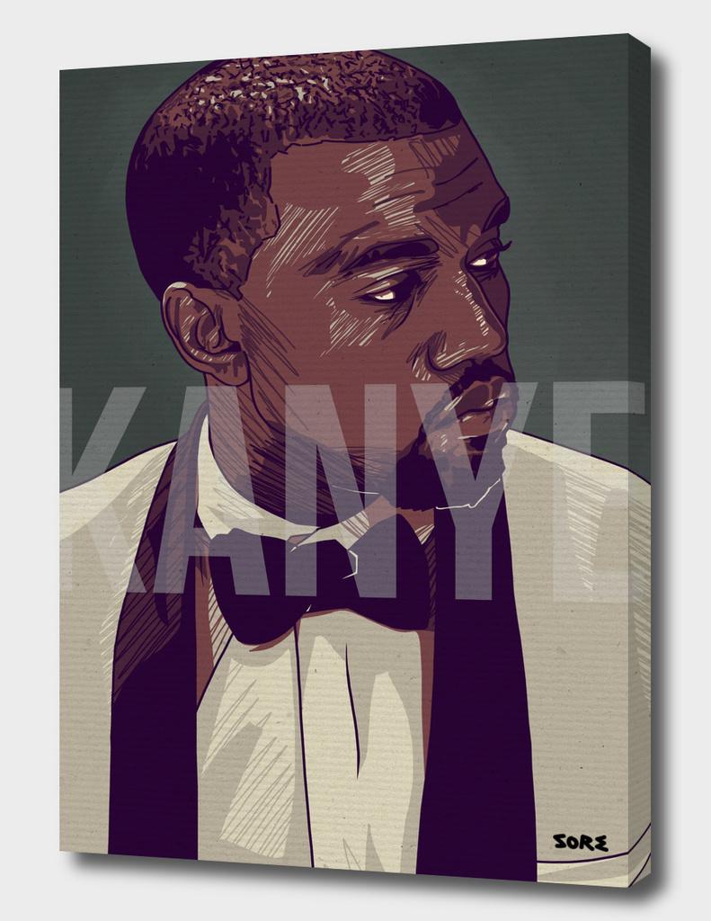 Kanye West Portrait