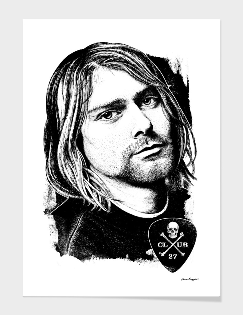 Club 27. Kurt Cobain