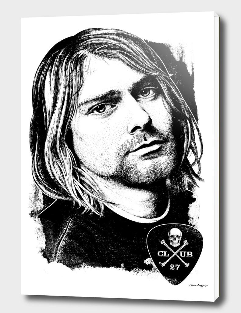 Club 27. Kurt Cobain