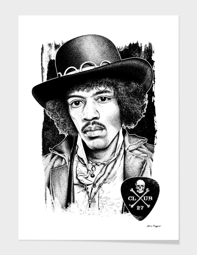 Club 27. Jimi Hendrix
