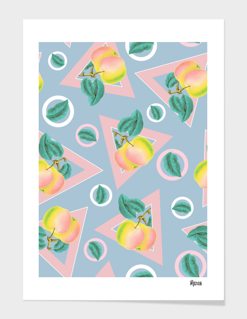 Geometric and Apple Pattern