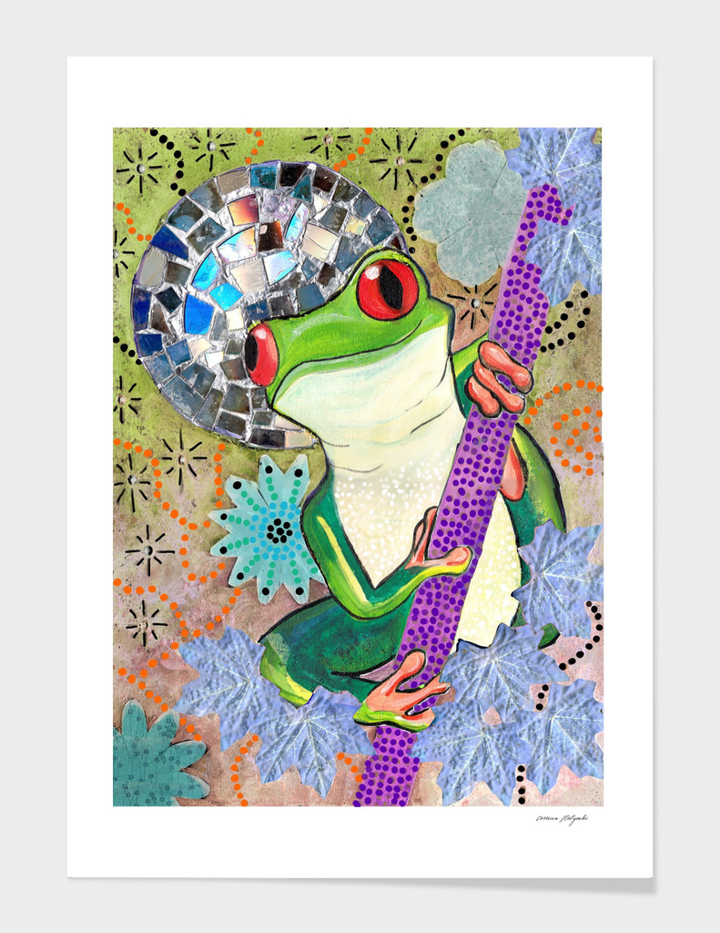 Enchanted Frog With A Twist