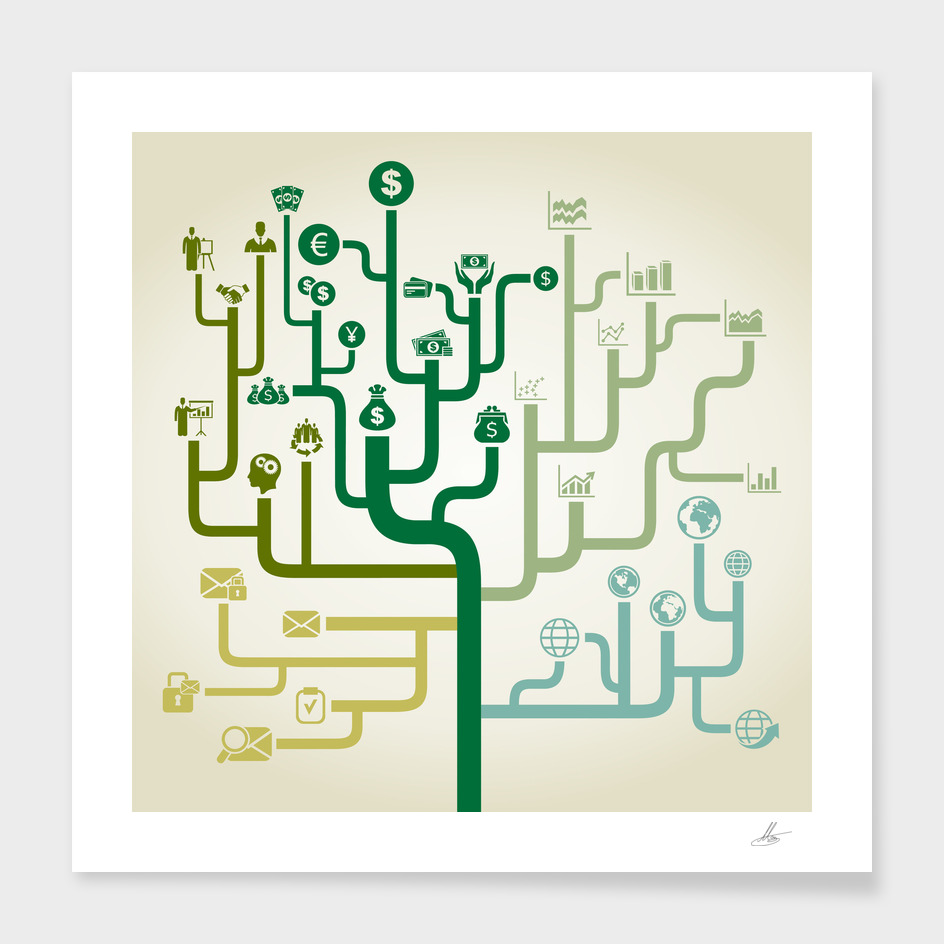 Business a labyrinth