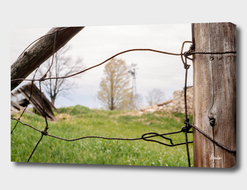 197905 Fence shot, Sandy Hollow, Barrie