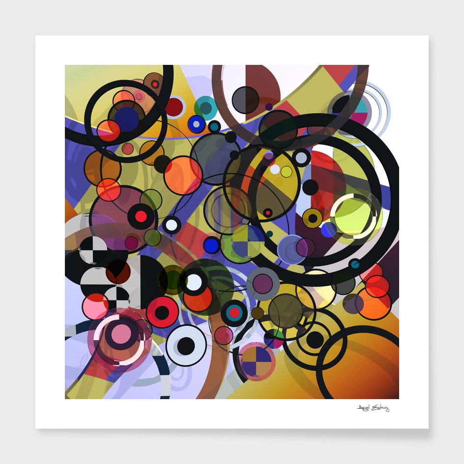 Abstract composition 130