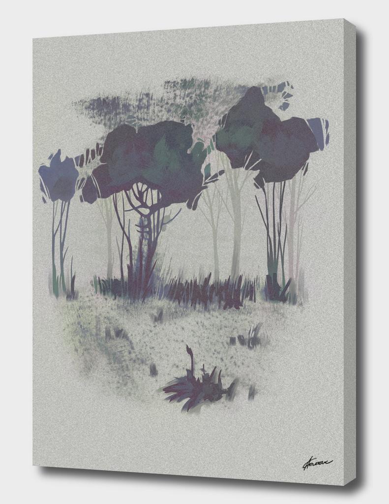 Melancholic forest