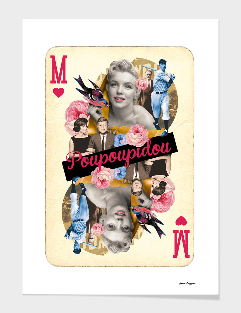 Collage cARTs. Marilyn Monroe