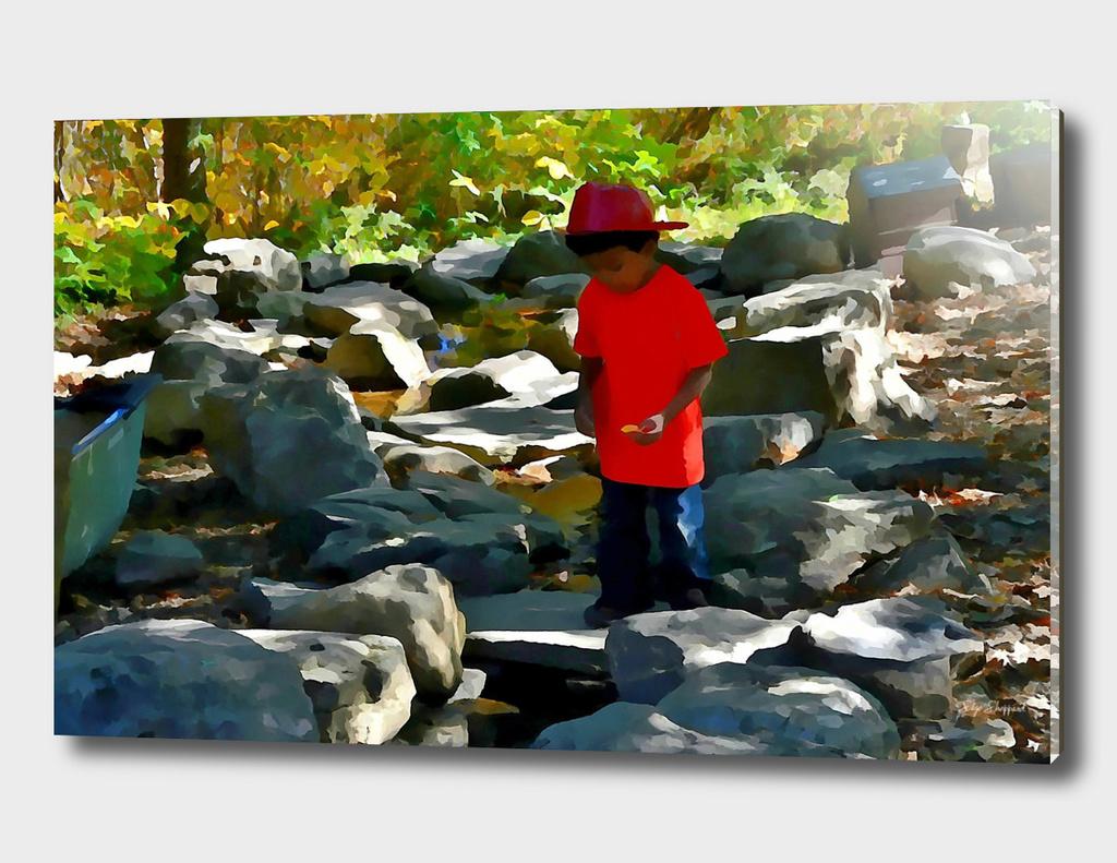 Nature Kid Rocks