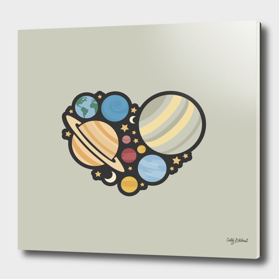 Heart of an Astronaut