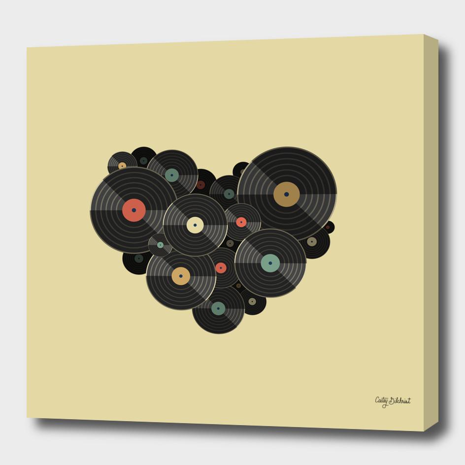 Heart of a Vinyl Lover