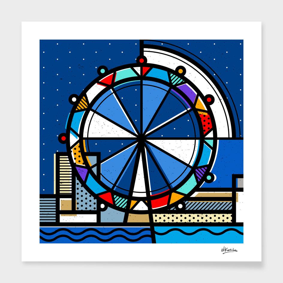 England: London Eye