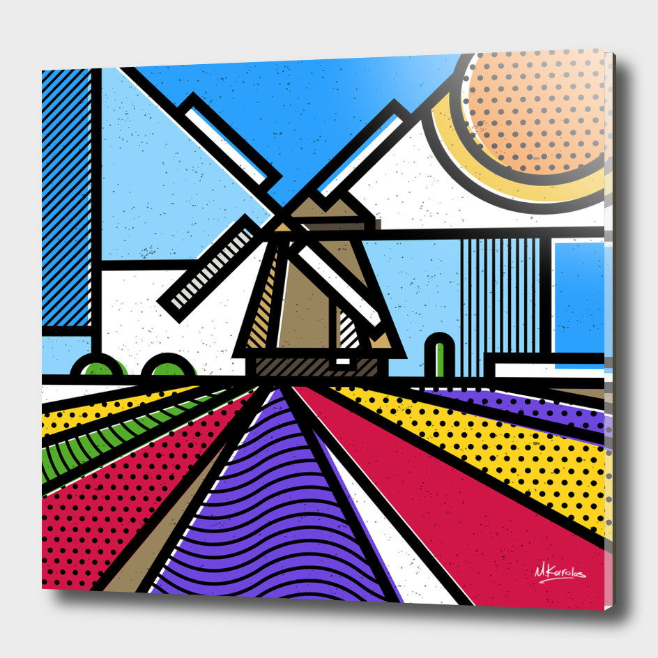 Holland: Windmill
