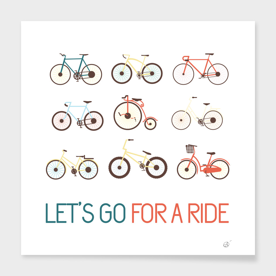 Let´s go for a ride