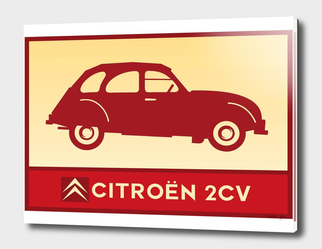 RED 2CV