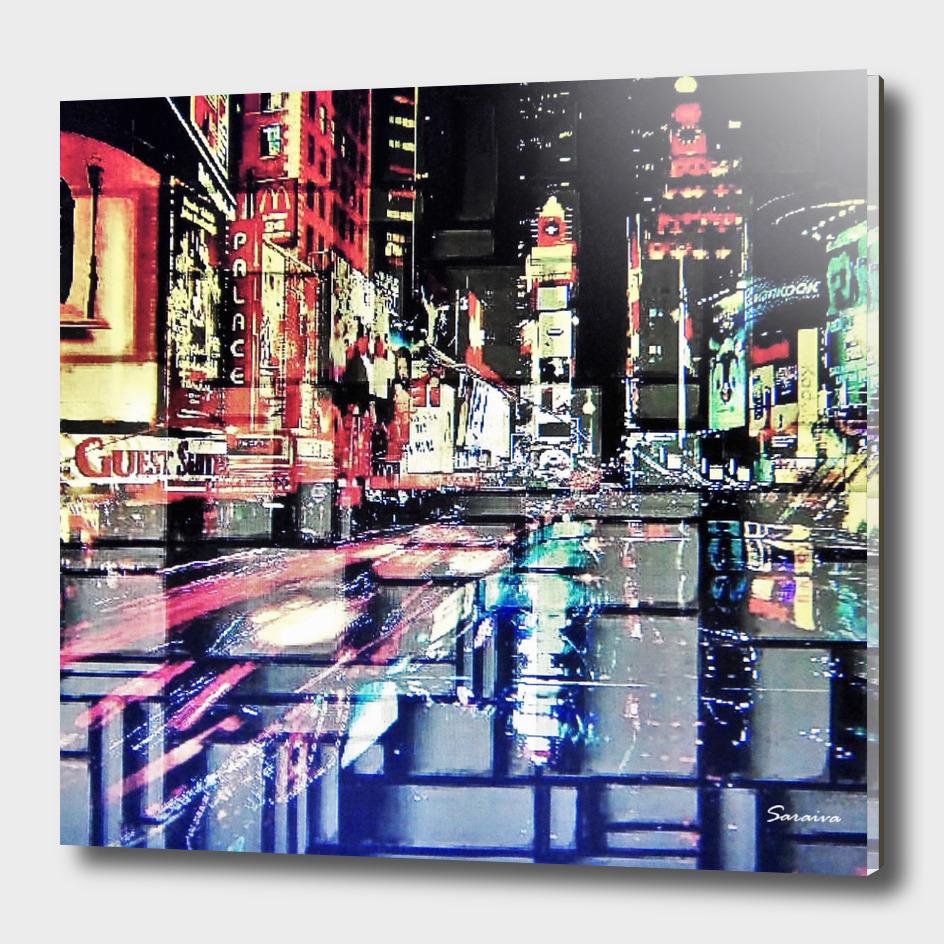 Broadway Lights - NYC
