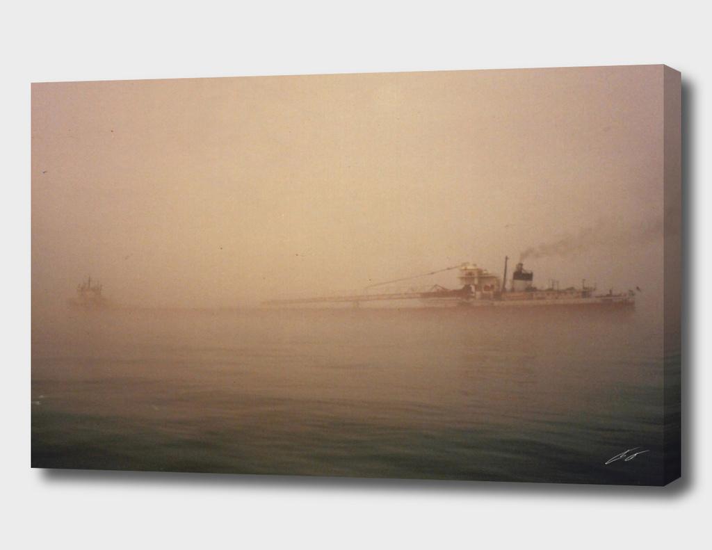 Two Harbors Fog Ship