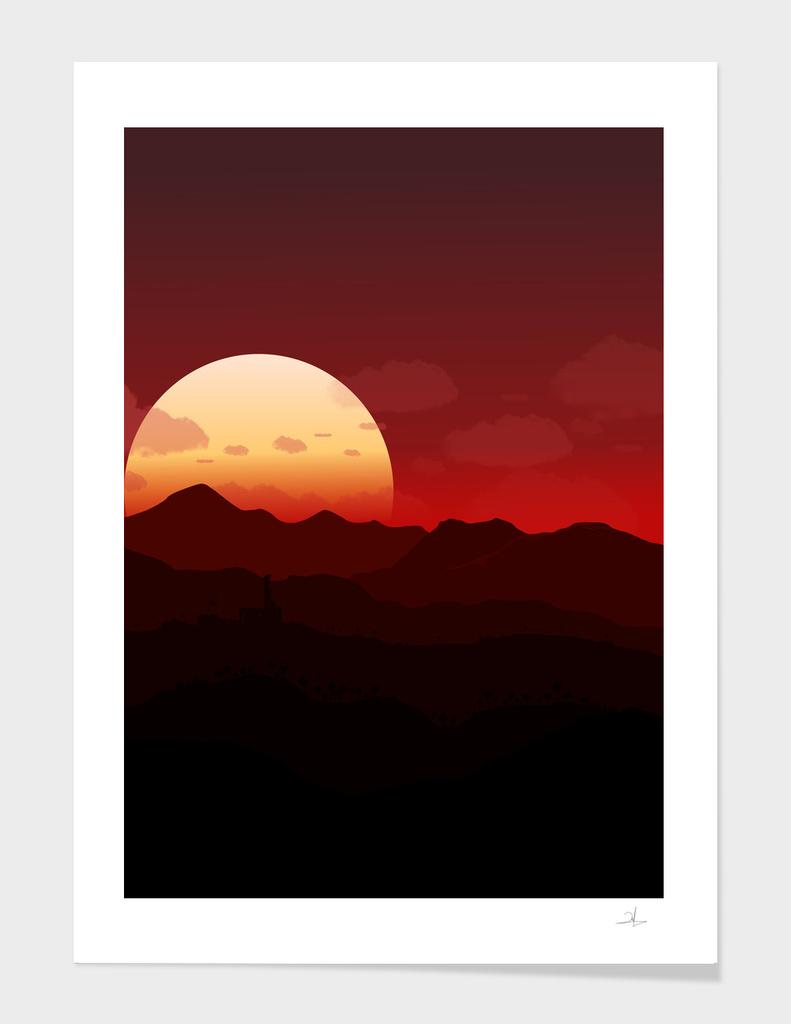 Land of the Sun Set