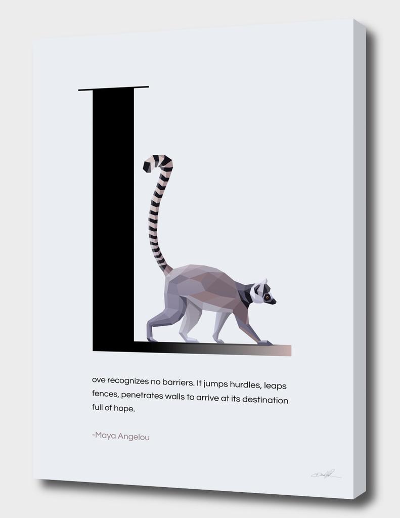 L for Lemur