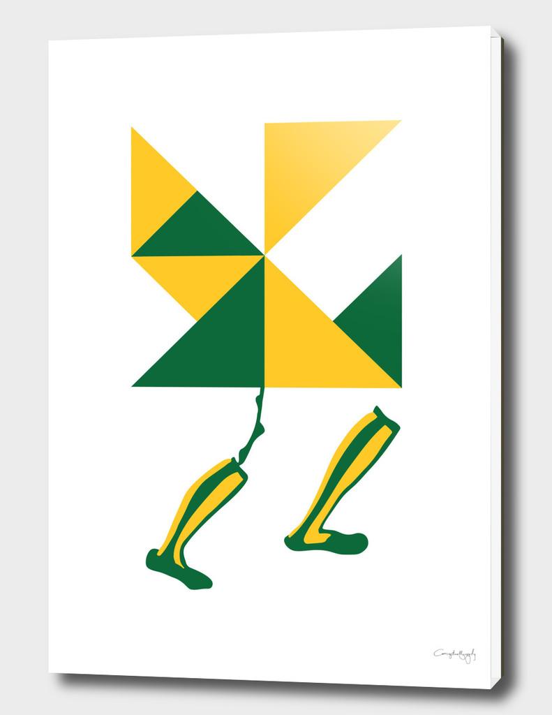 Geometric runner
