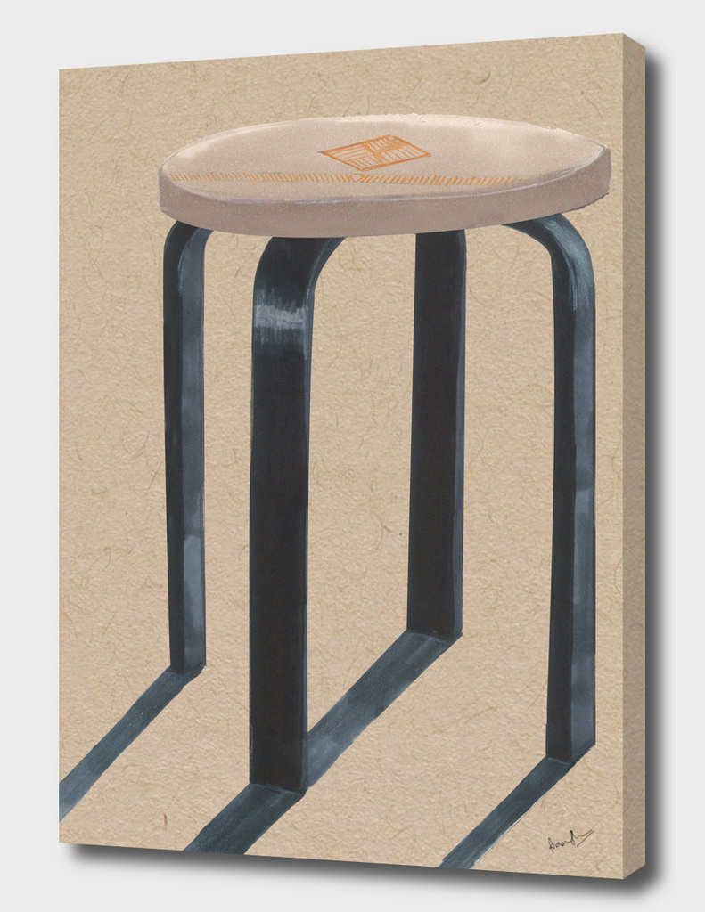 Woodcraft Workshop Stool