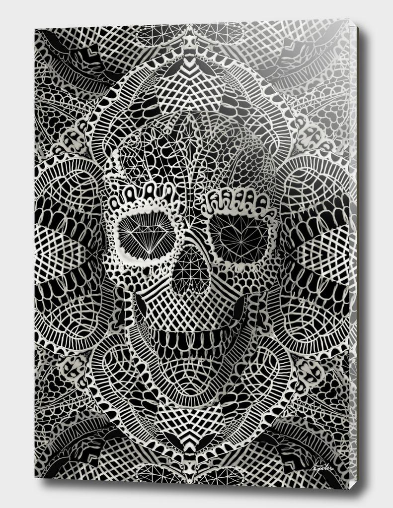 Lace Skull