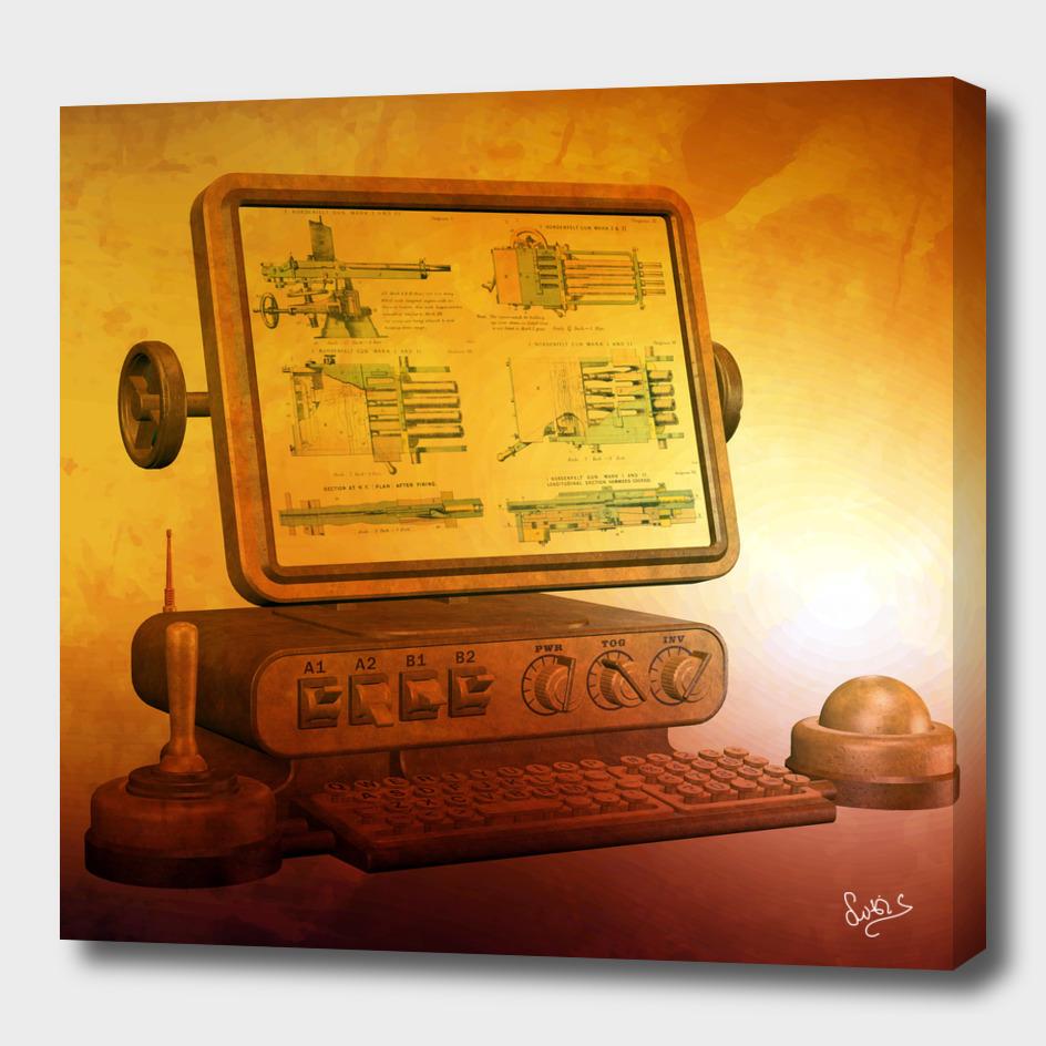 Steampunk Computer Information System