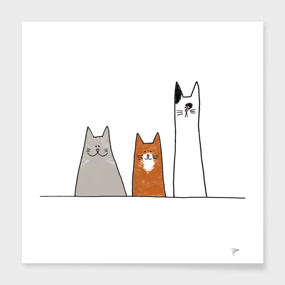 Cool Cats Illustration II