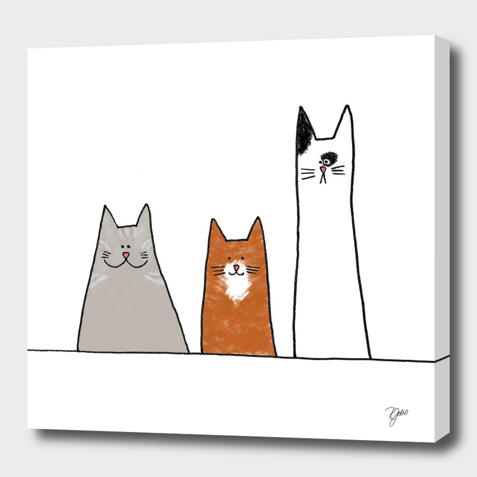 Cool Cats Illustration II
