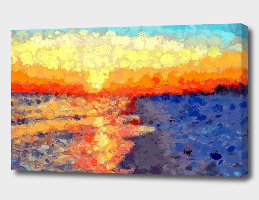 Modern Masterpiece I - Sunset / NE