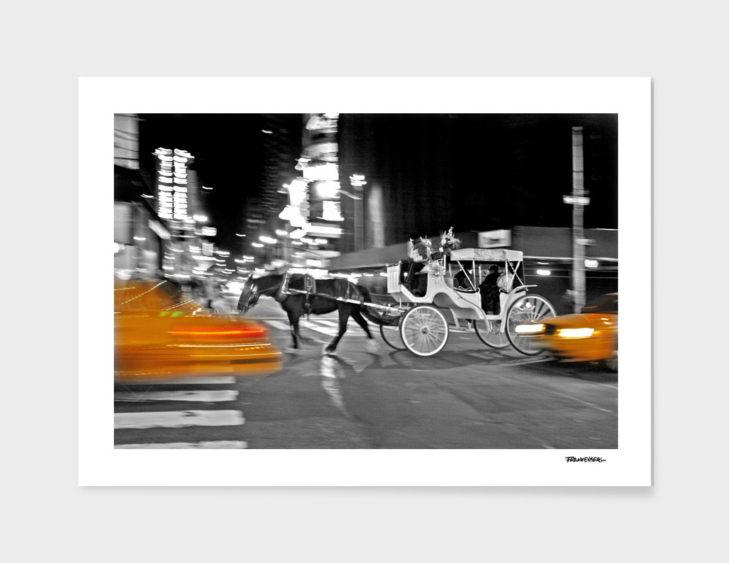 NYC - Yellow Cabs - Carriage