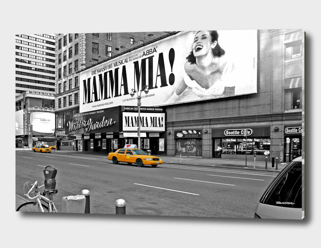 NYC - Yellow Cabs - Mamma Mia