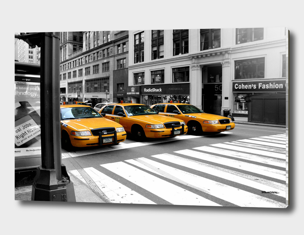 NYC - Yellow Cabs - Radio Shack