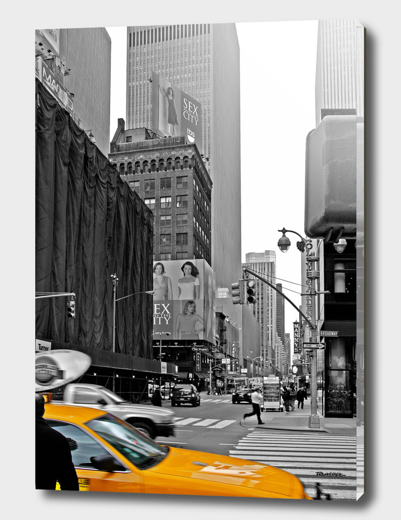 NYC - Yellow Cabs - Sex and the City