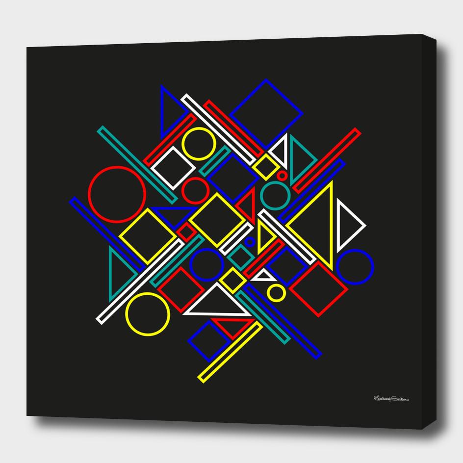 Geometric abstract 3