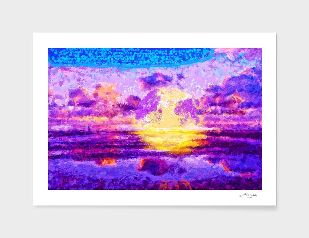 Modern Masterpiece II - Sunset / NE