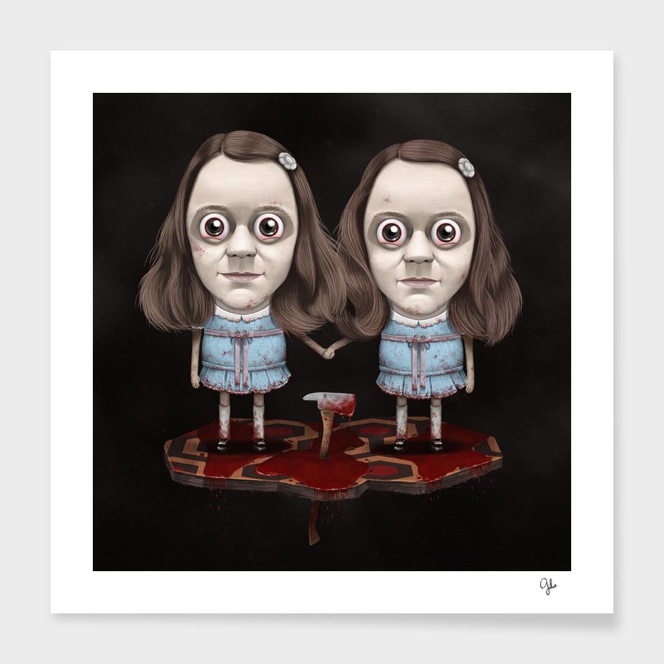 The Shining - Lil' Grady Twins
