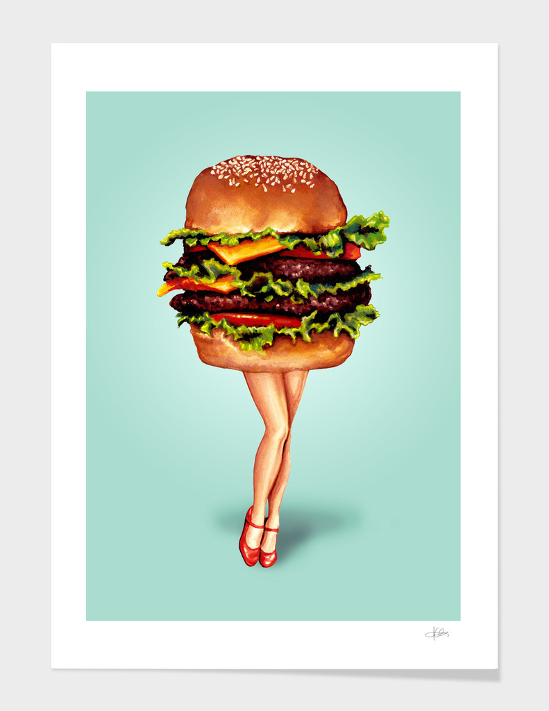 Cheeseburger Girl
