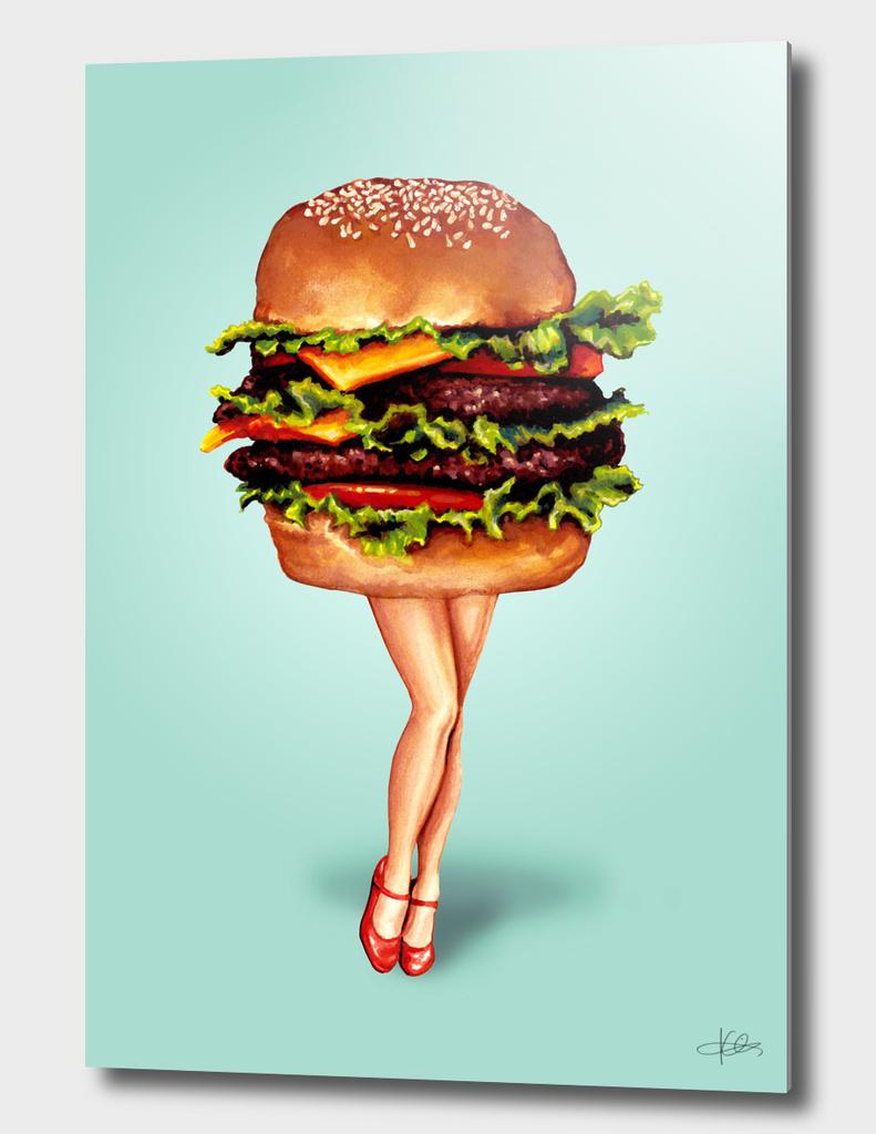 Cheeseburger Girl