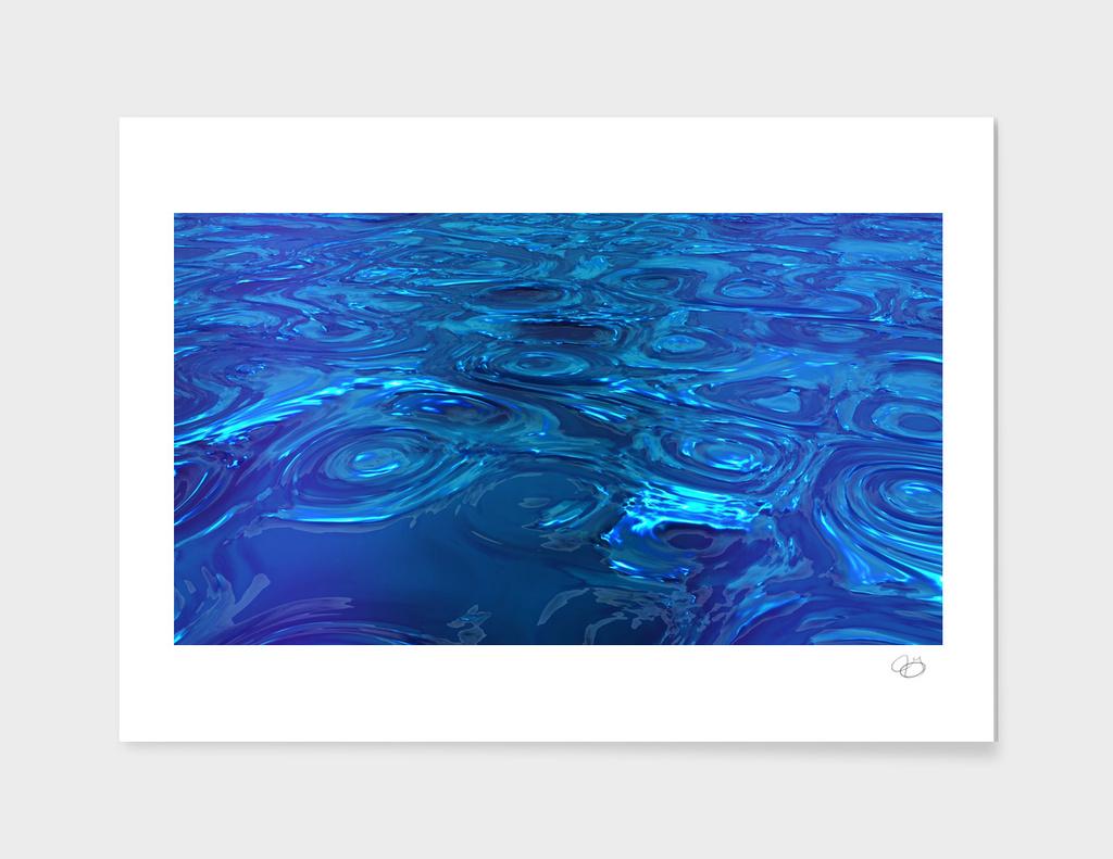 Azure Swirls