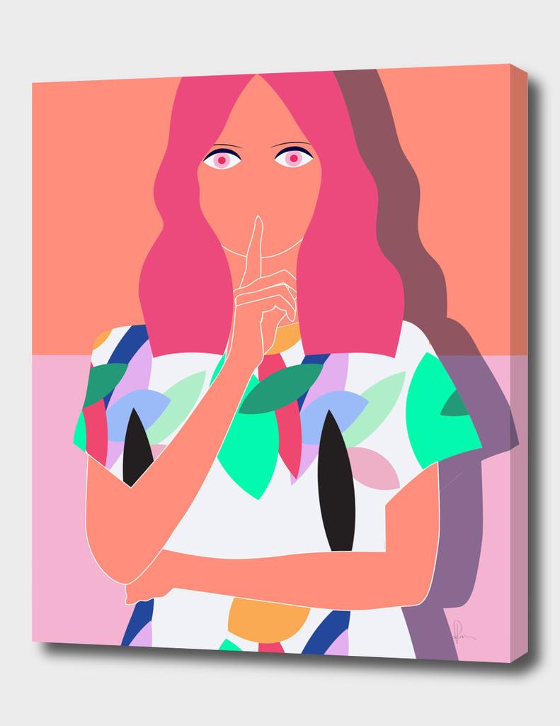 ilustratie tricou colorat