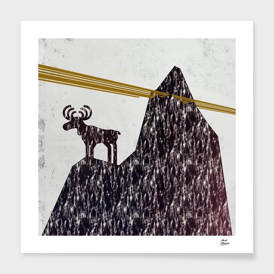 raindeer waiting