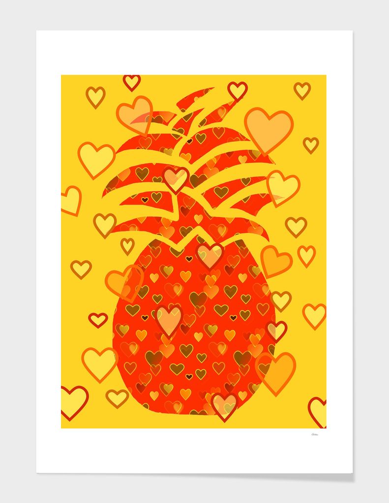 I Love Pineapple