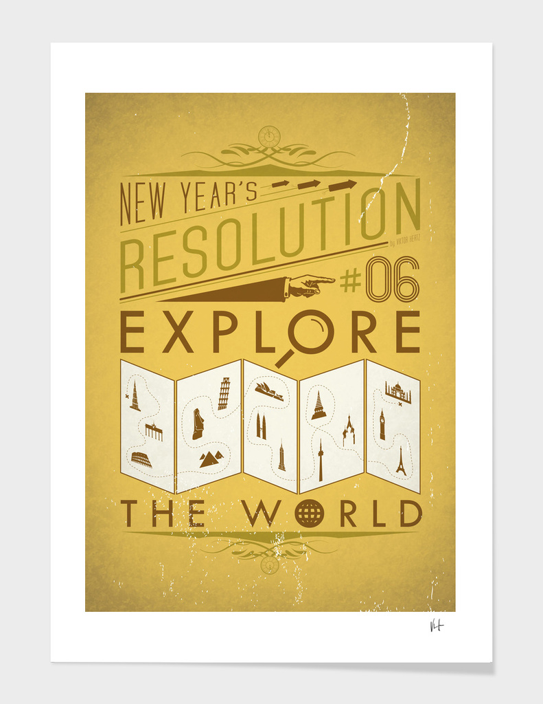 New Year's resolution #6