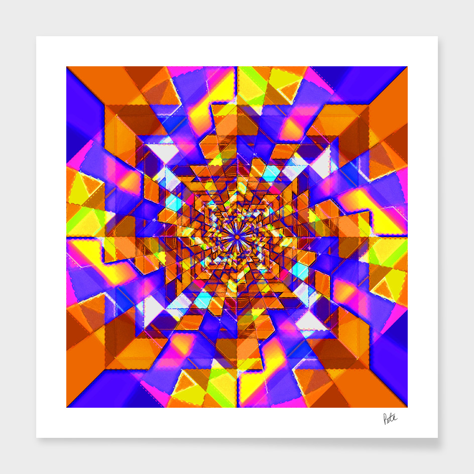 Spiral Squares