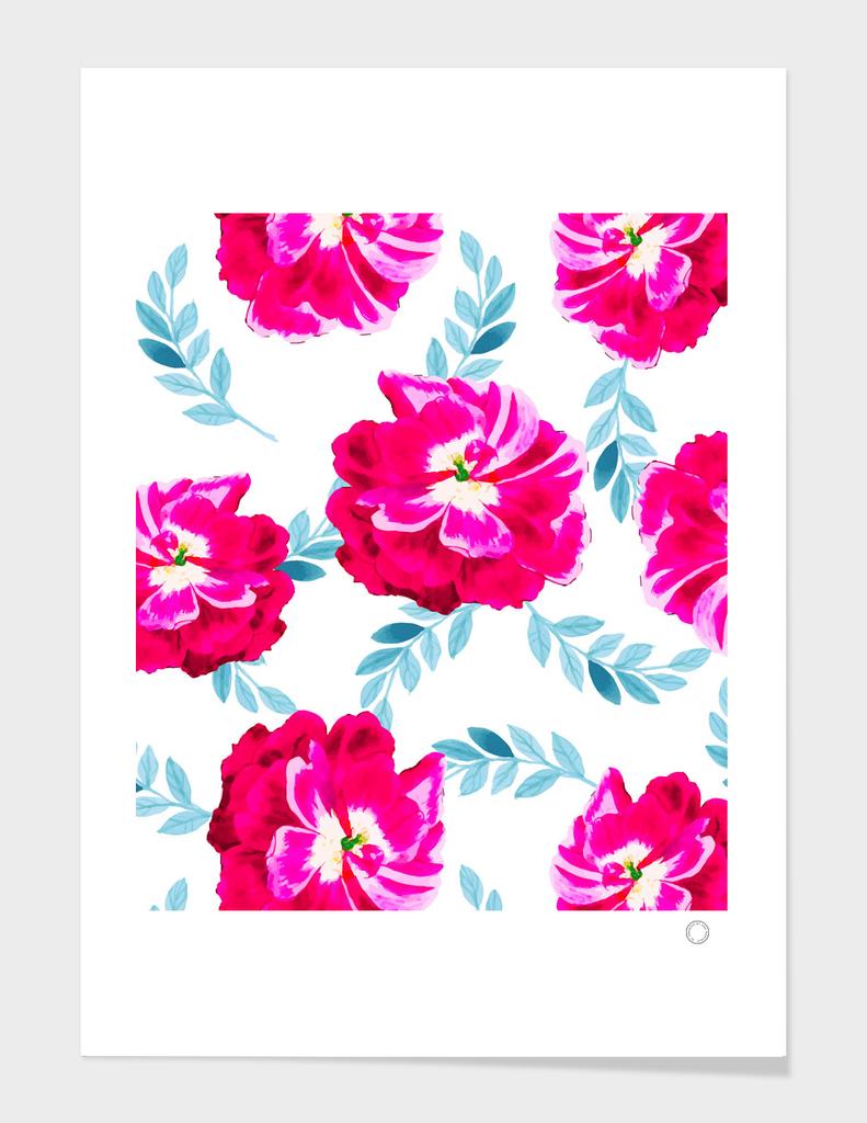 Flourescent Florals