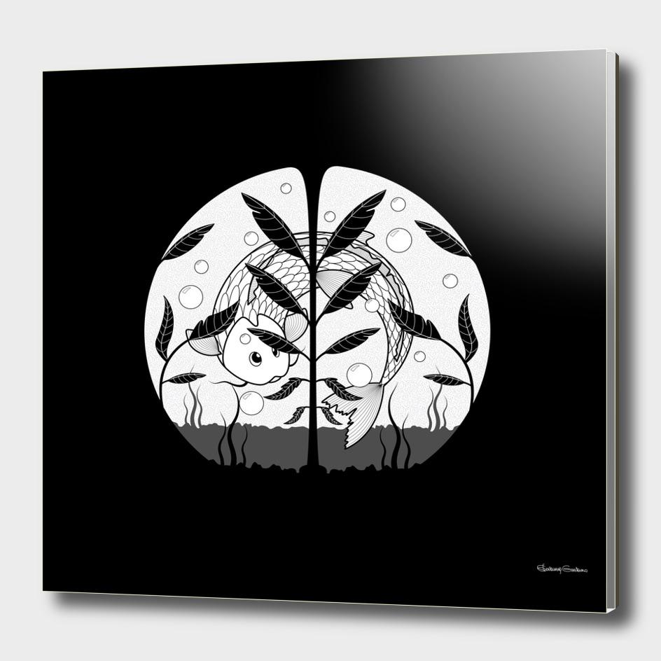 Aquarium (black and white)