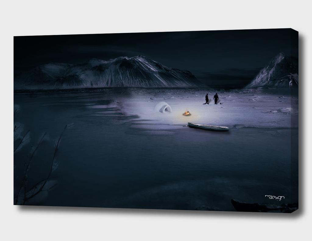 The Eskimos at Night