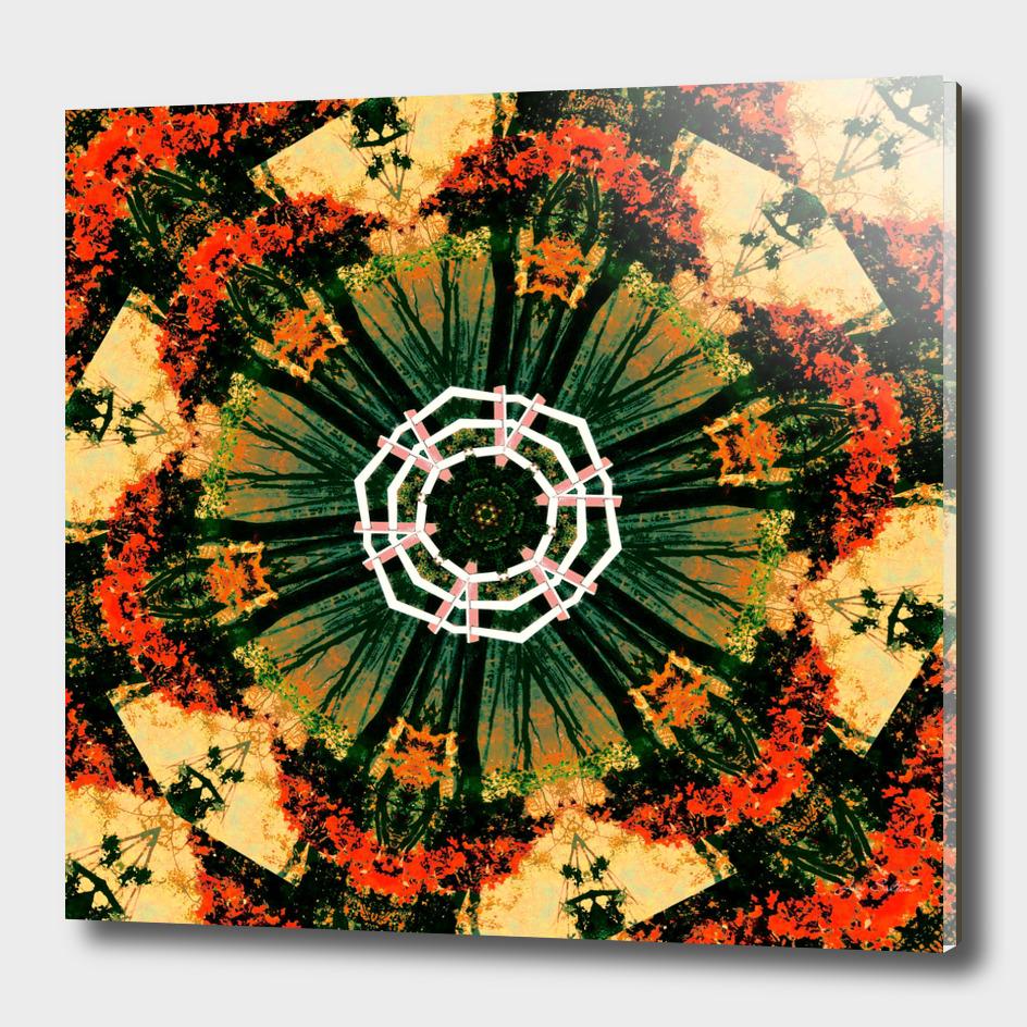 Zen Garden Abstract Painting
