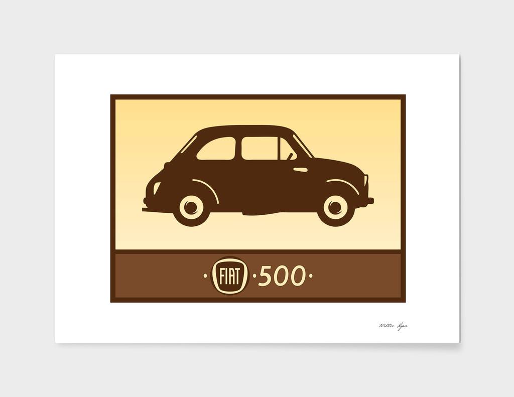 Vintage Bubble Car Print